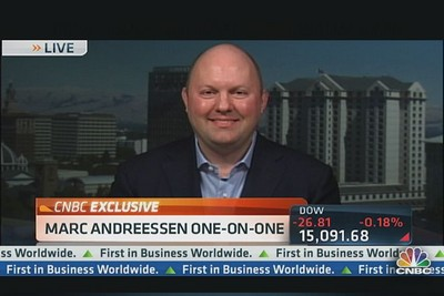 We Are Living Through a 'Tech Depression': Marc Andreessen
