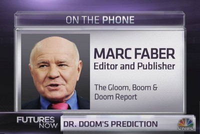 Marc Faber's Ominous Prediction That The Coming Stock Market Crash Will Be Massive