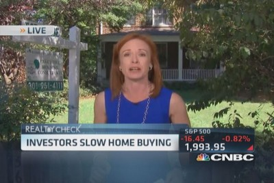 Investors leaving housing high and dry