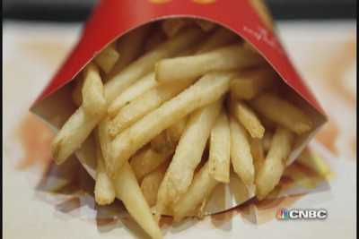 What are McDonald's fries really made of?