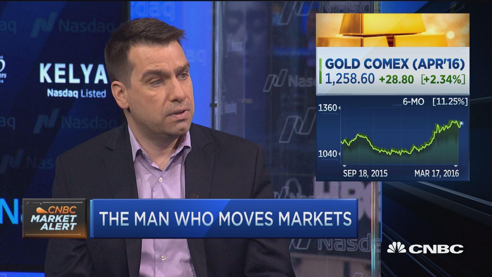 JPMorgan Chase's forecaster says buy gold, not stocks