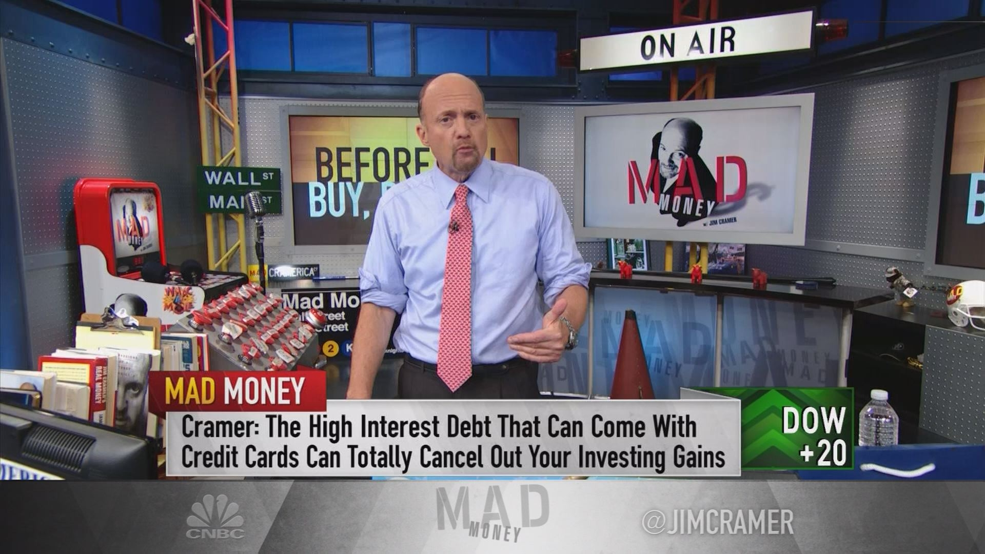 Jim Cramer: Don't invest without these 3 things